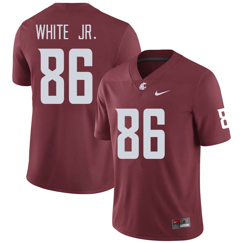 Men #86 Anthony White Jr. Washington State Cougars College Football Jerseys Sale-Crimson